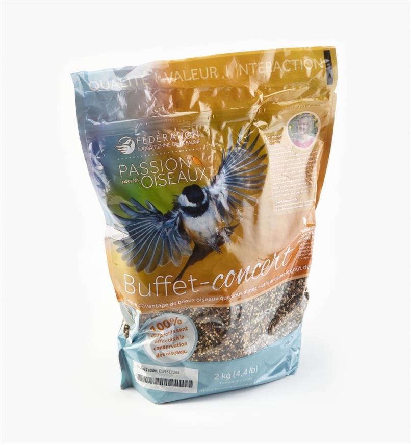AG128 - Mélange pour petits oiseaux, 2kg