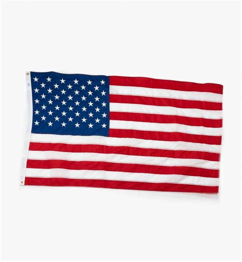 FP103 - Drapeau américain de luxe
