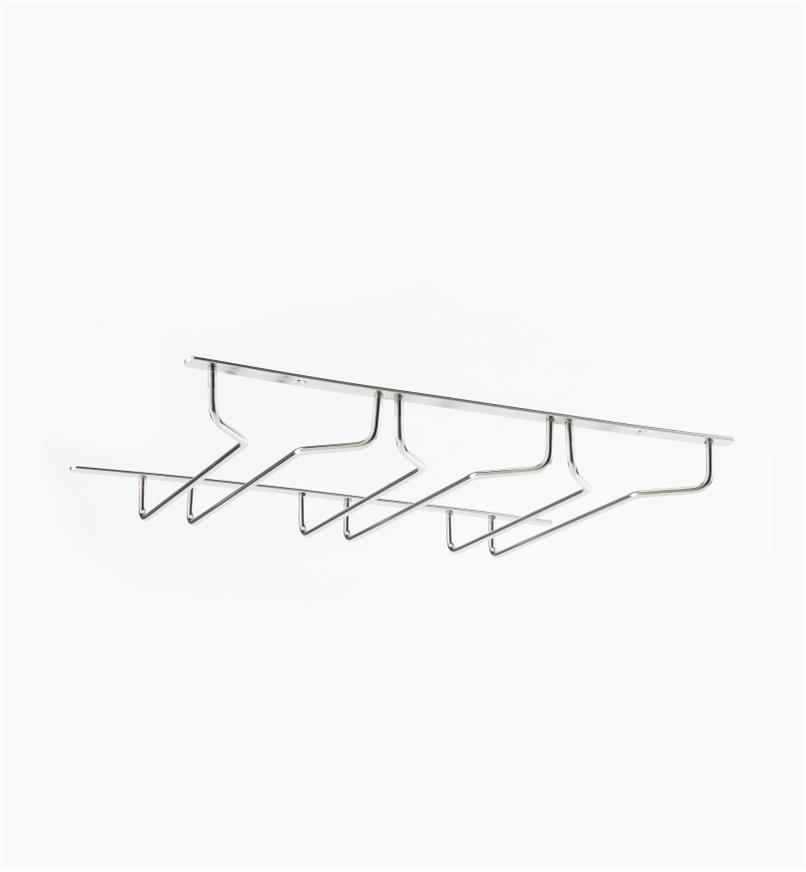 01K2023 - Porte-verres triple de 101/2 po