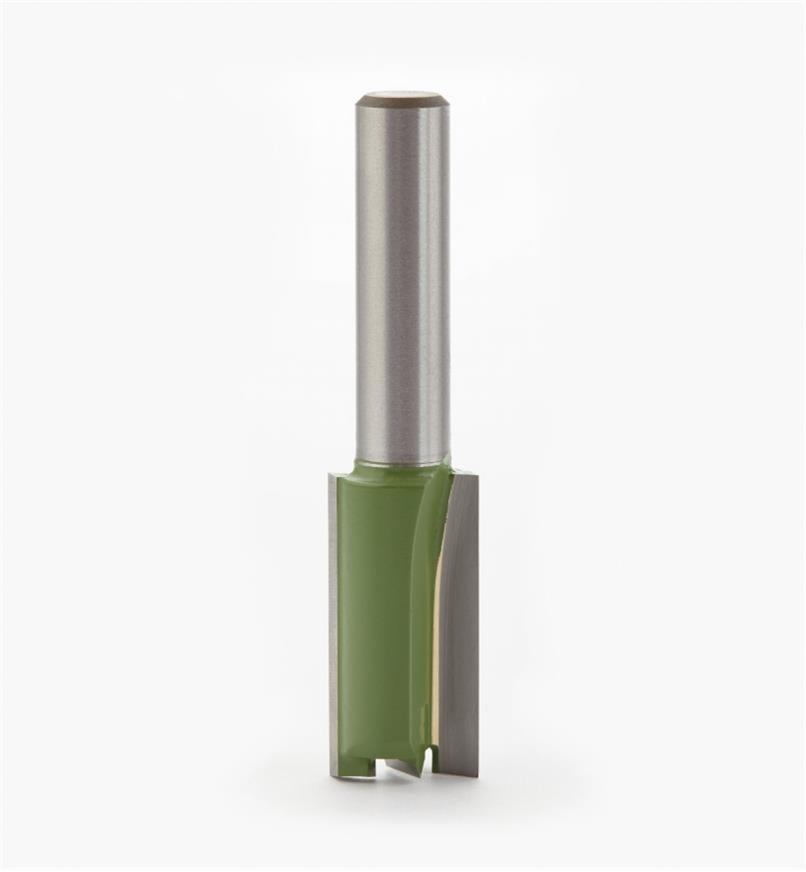 18J0608 - Mèche droite pour coupe plongeante, 1/2po x 1po x 8mm