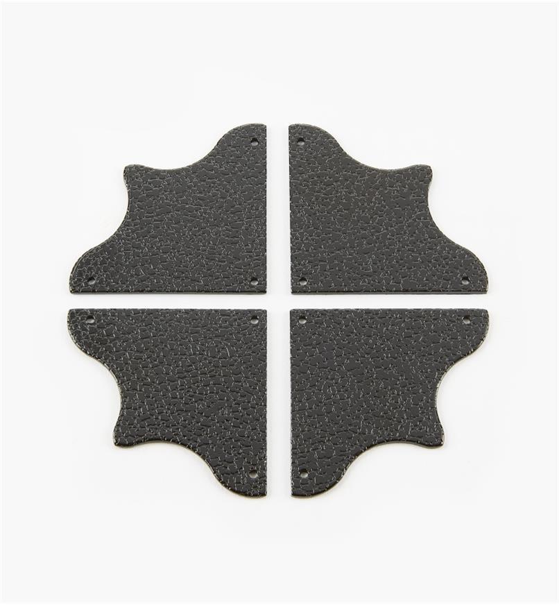 00D5635 - 49mm x 49mm Corner Plates, pkg. of 4