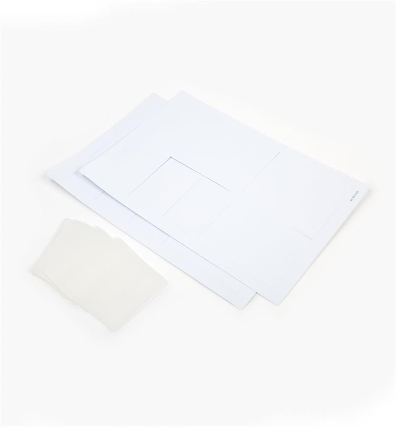 68K4652 - Paper Labels & Vinyl Holders (20)