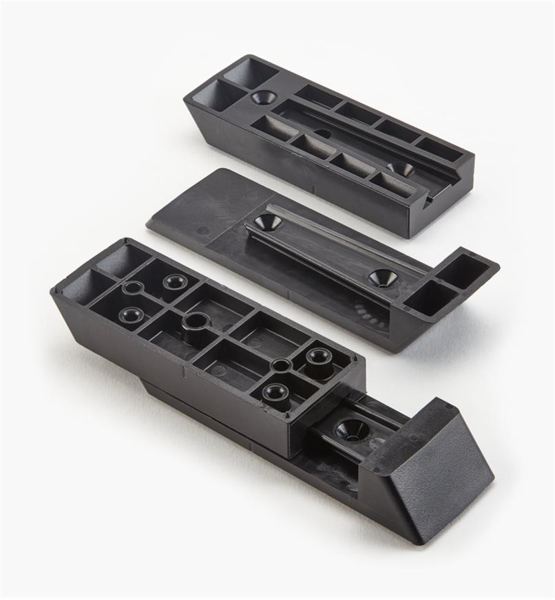 01S1825 - 2x4 Titan Stair Rail Connectors, pr.
