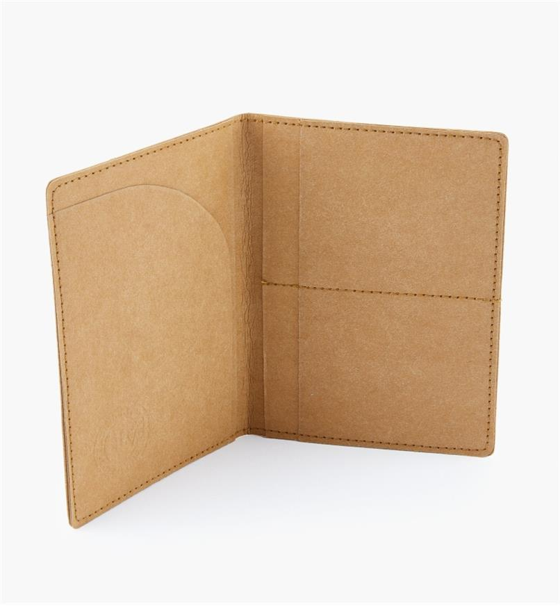 09A0935 - Tree Leather Passport Wallet