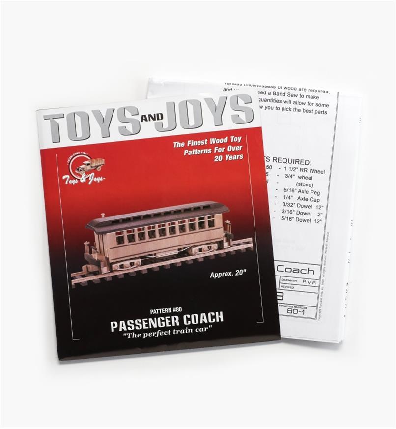 26L1009 - Passenger Coach Plan