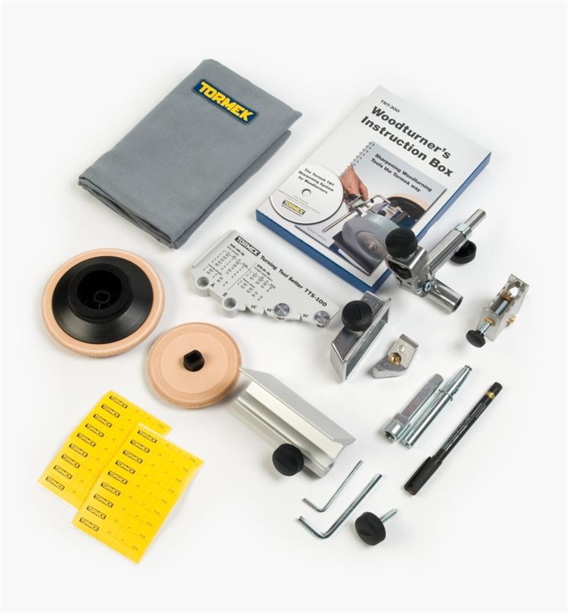 68M0116 - Ensemble pour outils de tournage sur bois Tormek