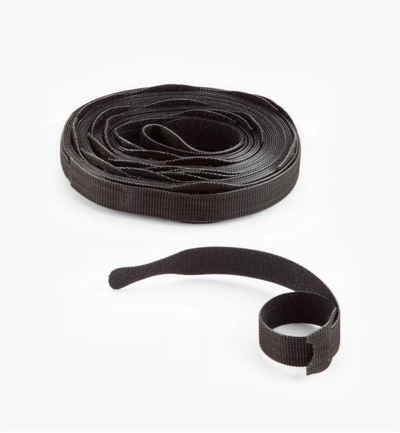 "EA172 - 8"" VELCRO Brand Cable Ties, roll of 25"