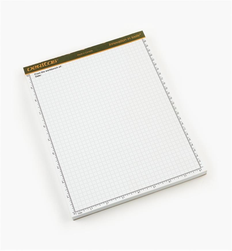 "05L2101 - Veritas 8 1/2"" x 11"" 96-sheet Scratch Pad, each"