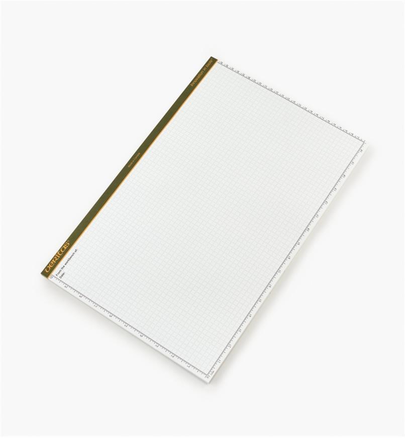 "05L2130 - Veritas 11"" x 17"" 48-sheet Scratch Pad, each"