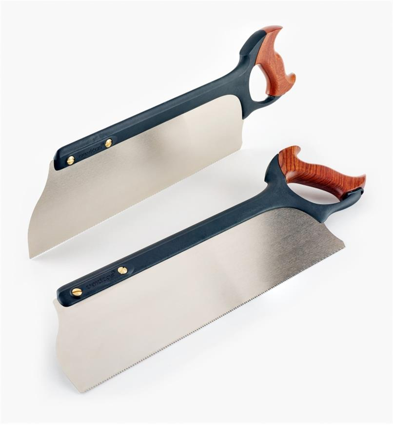 05T1410 - Set of 2 Veritas Tenon Saws (Rip and Crosscut)
