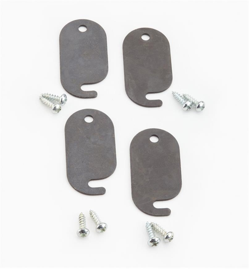 05G1024 - Extra Stop Plates, pkg. of 4