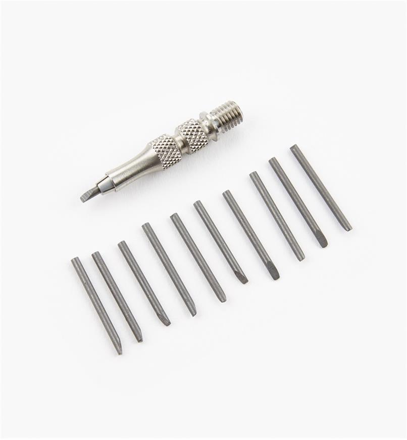 05N5008 - Veritas Pencil Tip for Trammel Points & 10 pencil leads