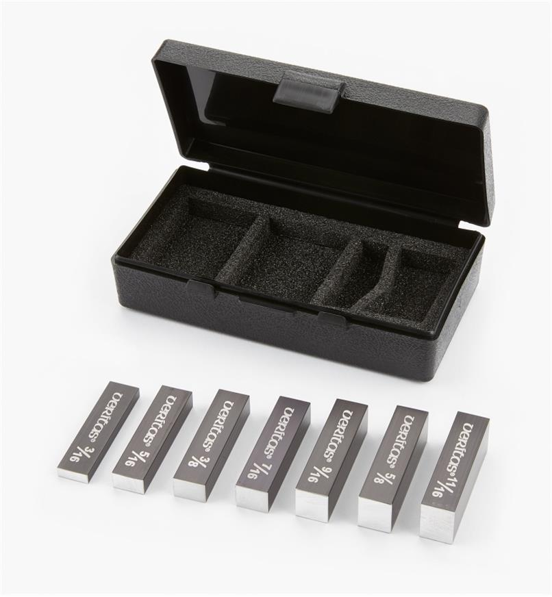 05N5803 - Veritas 7-Piece Set-Up Blocks, Expansion Set, 16ths