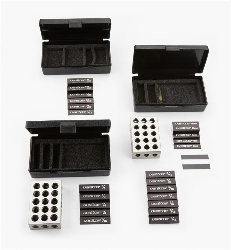 05N5815 - Veritas 28-Piece Set-Up Block Master Set (19-Piece Set + Metric Set)
