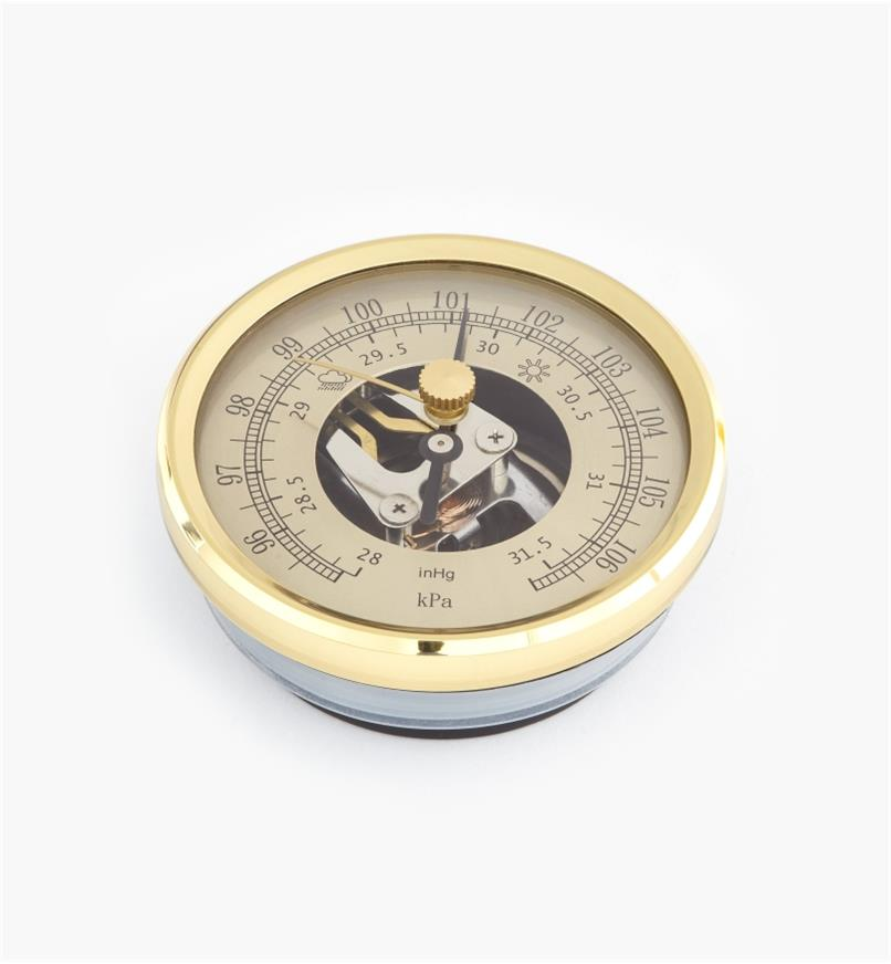 46K7021 - Brass Barometer, each