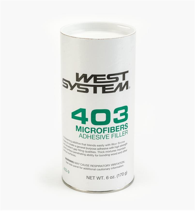 54Z2103 - #403 Microfibers Adhesive, 6 oz