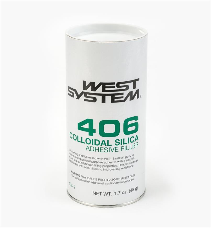 54Z2106 - #406 Silica Adhesive, 1.7 oz