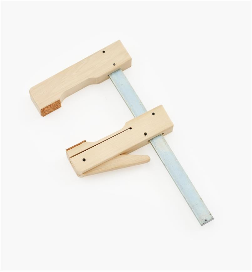 """09F0102 - 7 3/4"""" x 4 1/4"""" Wooden Cam Clamp"""