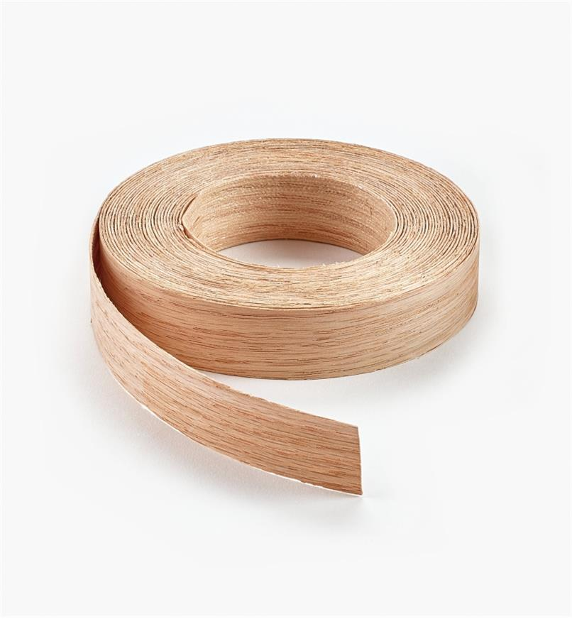 "41A0301 - 3/4"" x 25ft Red Oak Banding"