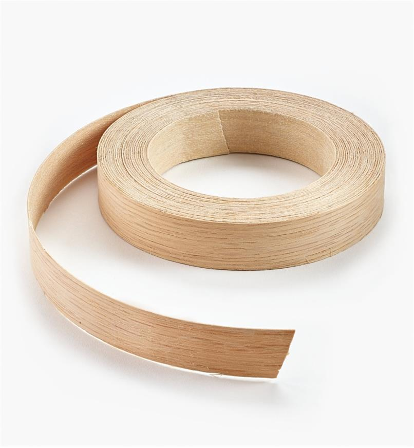 "41A0401 - 3/4"" x 25ft White Oak Banding"