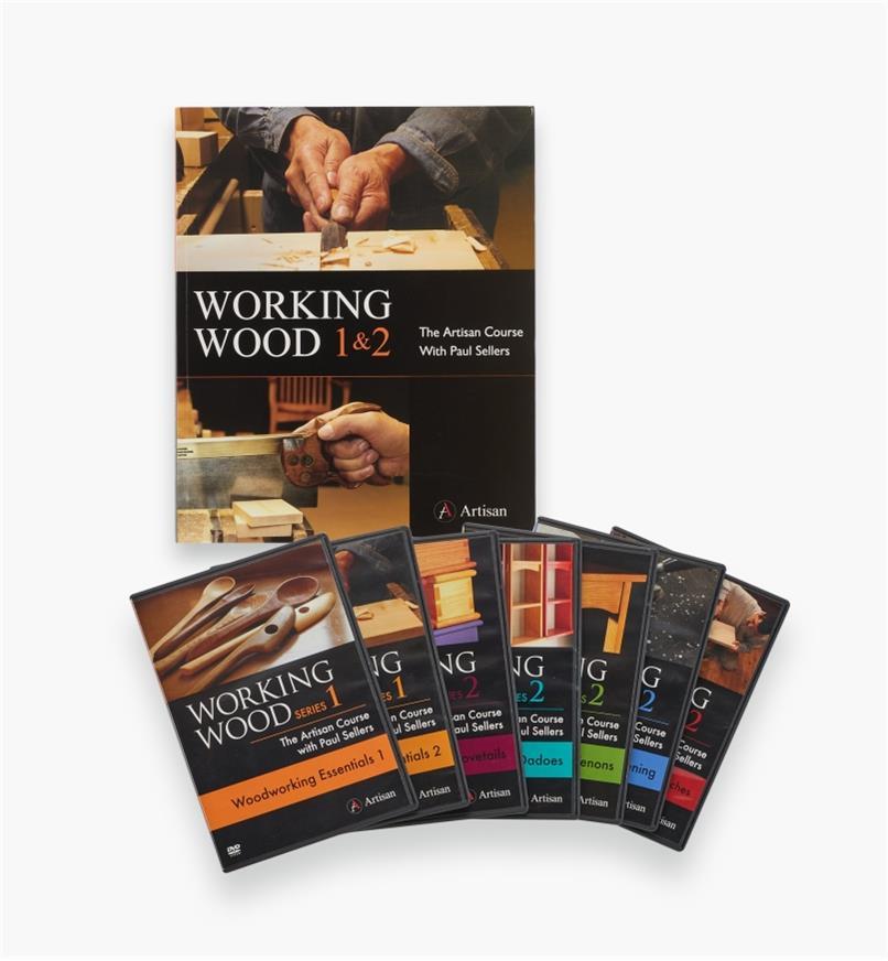 20L2025 - Working Wood Book & 7-DVD Set