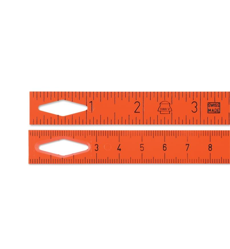 24N0656 - 2m Imp./Metric LongLife 1000V-Insulated Folding Rule