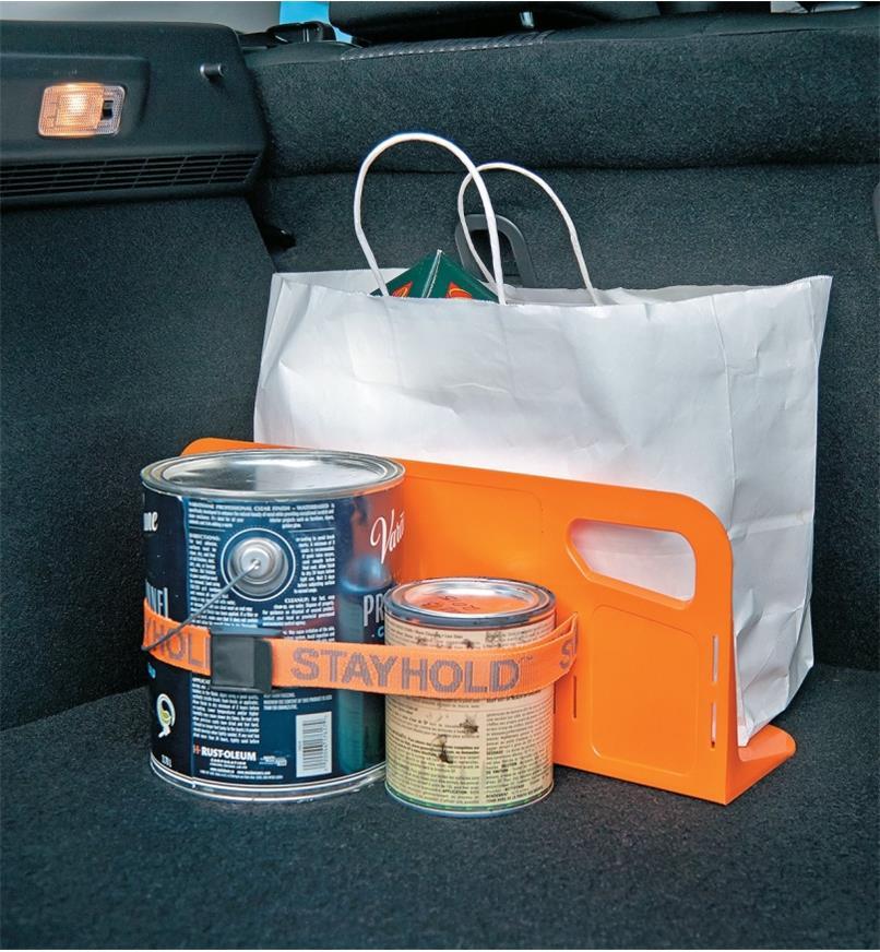 25K1580 - Cloison pour coffre d'auto, 18po