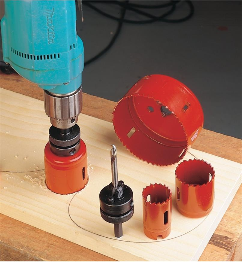 Hole Saws - Bi-Metal (HSS-Tipped)