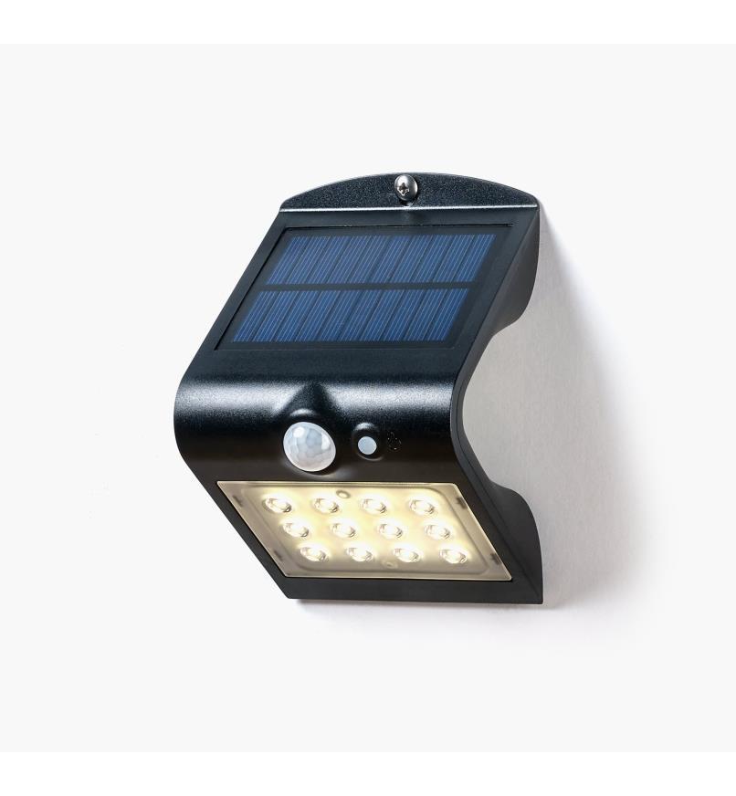 99W7343 - Lampe DEL solaire double à détecteur de mouvement, l'unité