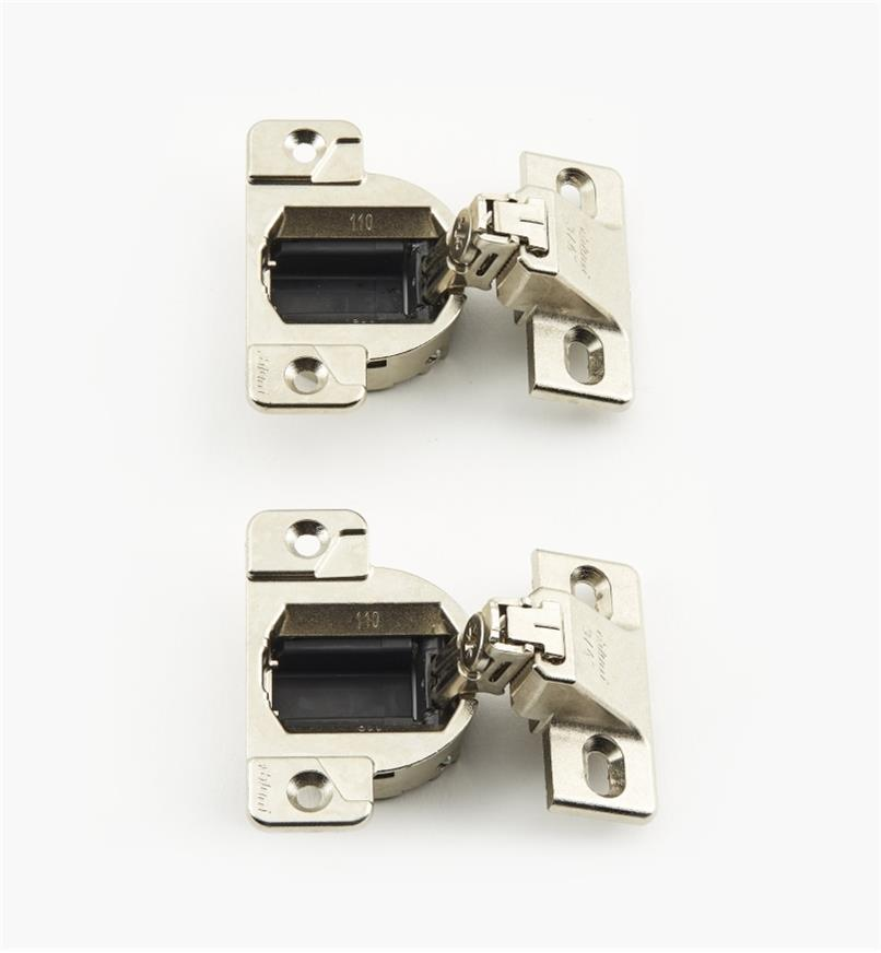 00B0703 - 110° Edge-Mount Face-Frame Hinges, pr.