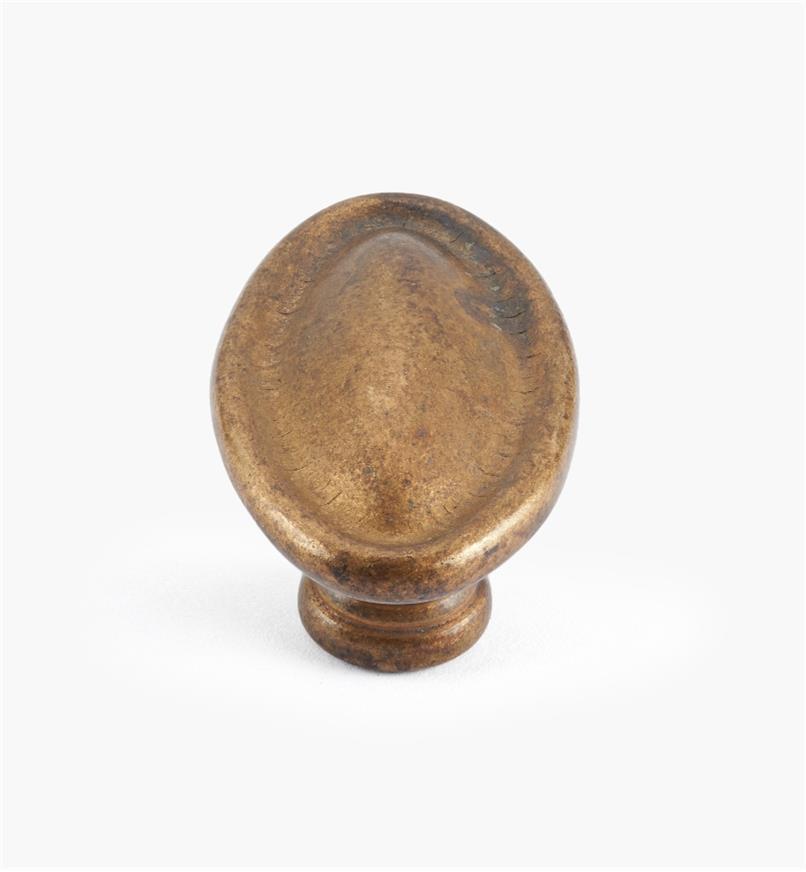 01A6650 - 35mm Classic Oval Knob