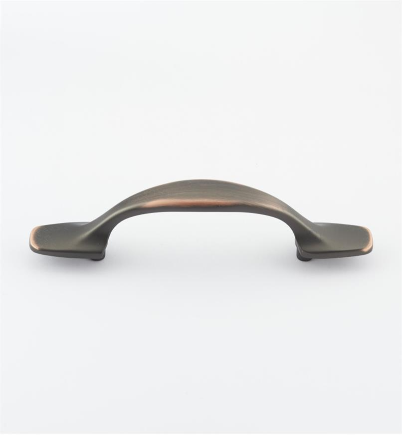 "02W4083 - 5"" Brushed Antique Copper Handle (3"")"