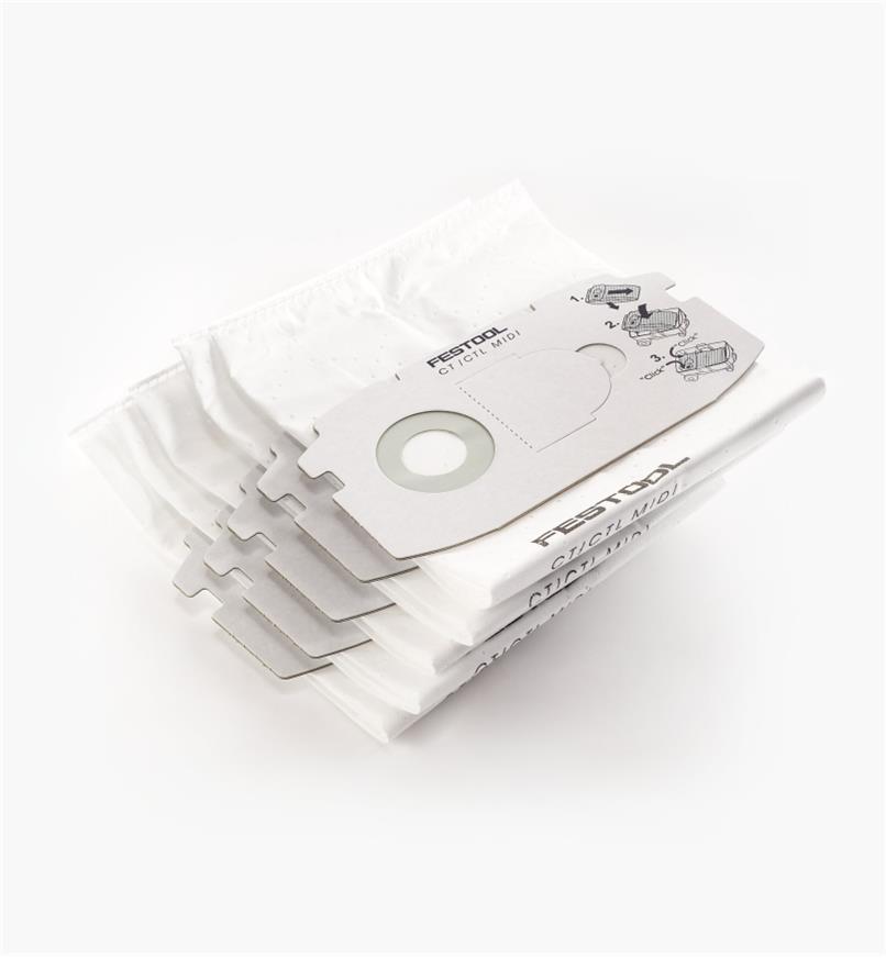 ZA498411 - Sacs filtres autonettoyants (CT MIDI)
