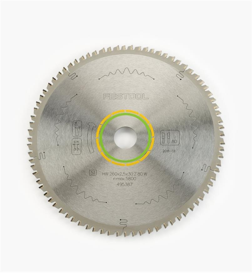 ZA495387 - Fine Tooth Saw Blade