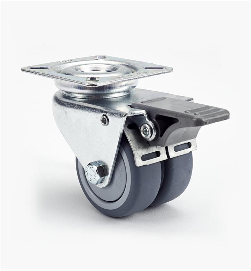 00K2235 - Sm. Twin-Wheel Caster, each