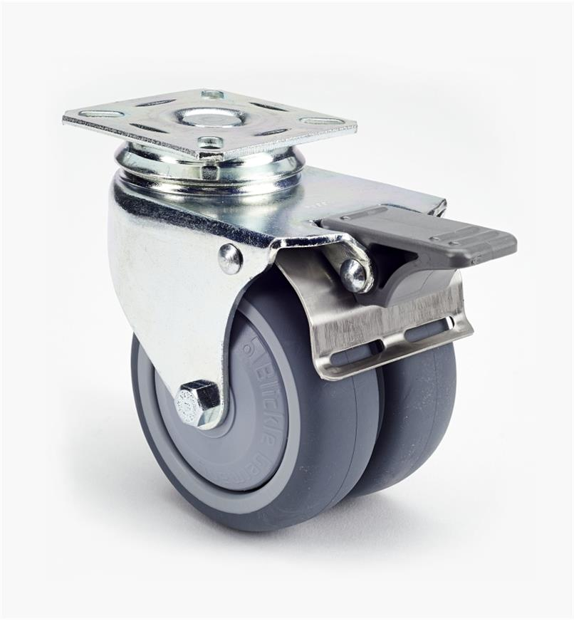 00K2236 - Lg. Twin-Wheel Caster, each
