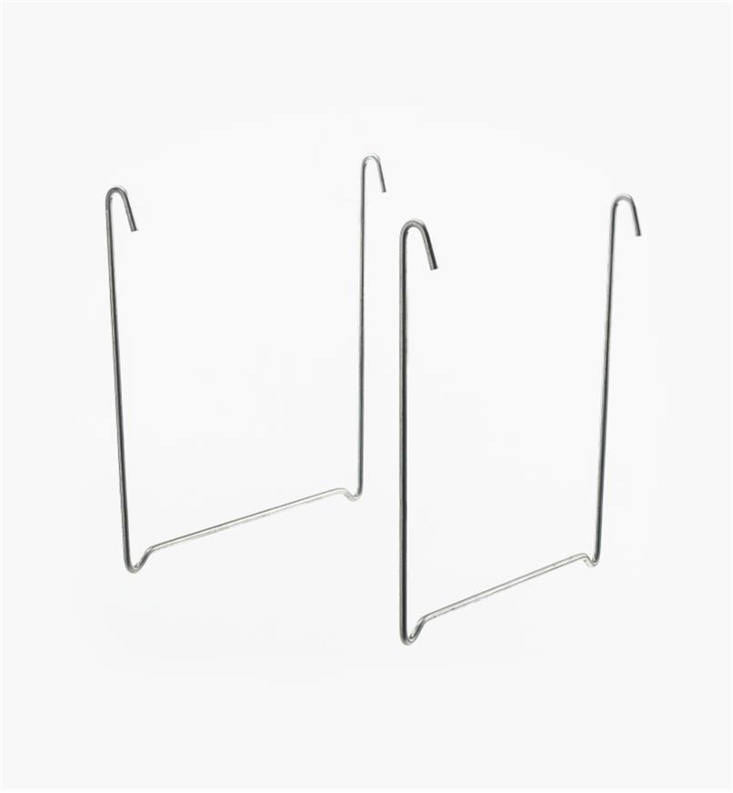 94K0501 - Éléments pour étagère suspendue, la paire