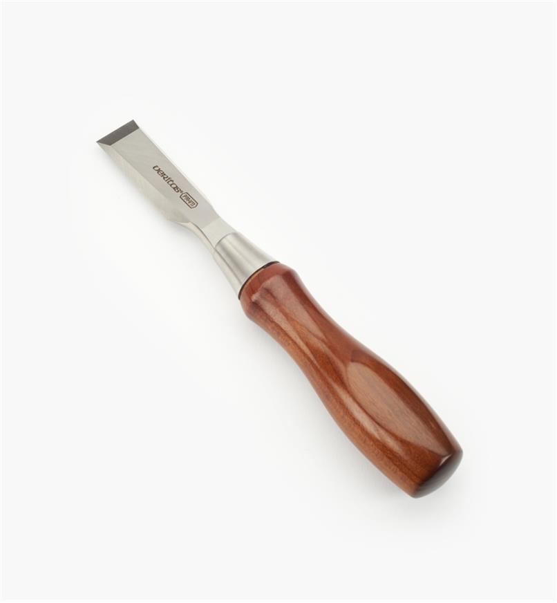05S2612 - Ciseau à bois pour charnière en acier PM-V11 Veritas, 3/4po