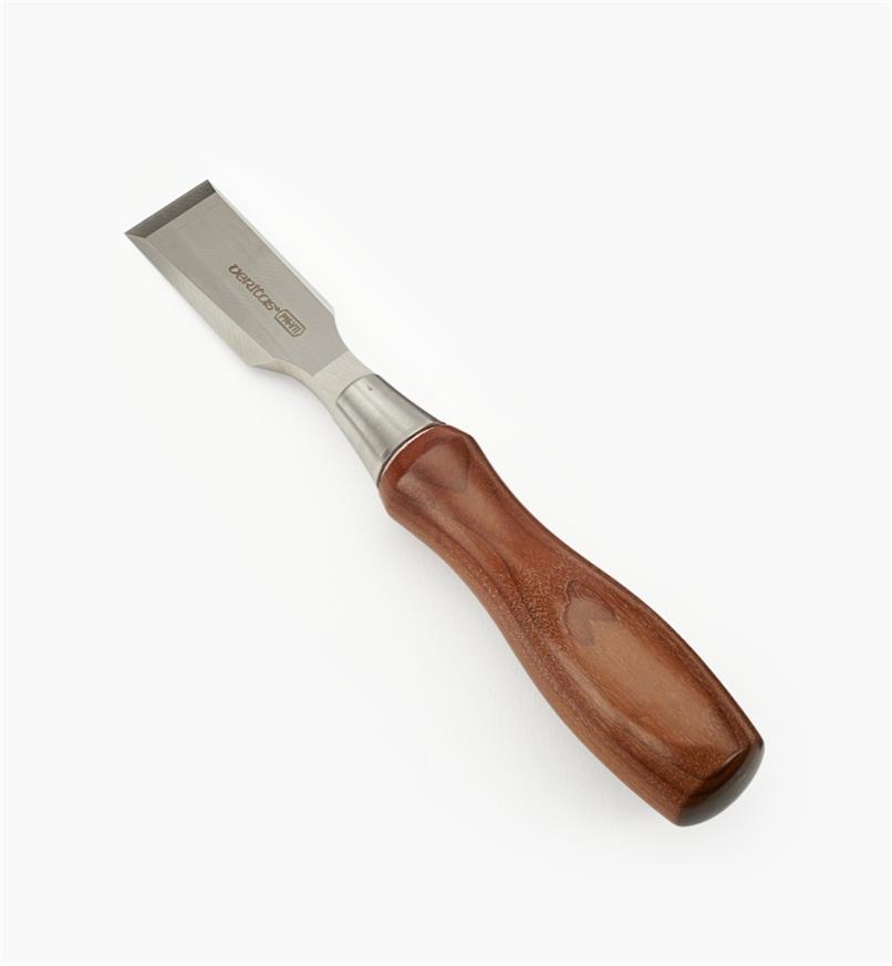 05S2616 - Ciseau à bois pour charnière en acier PM-V11 Veritas, 1po