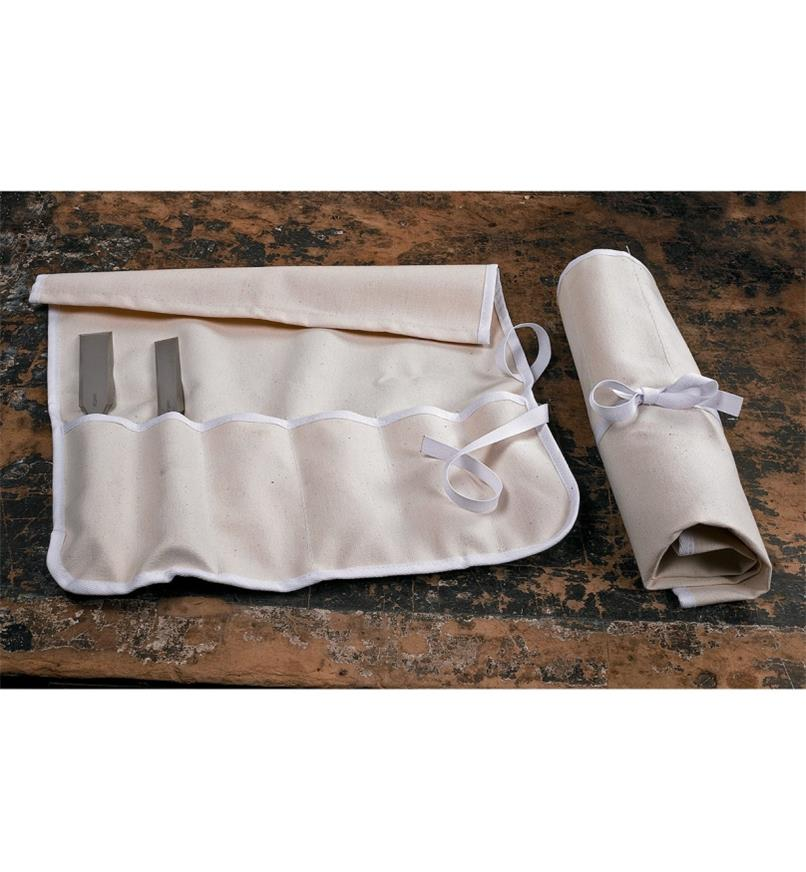 6-Pocket Canvas Roll