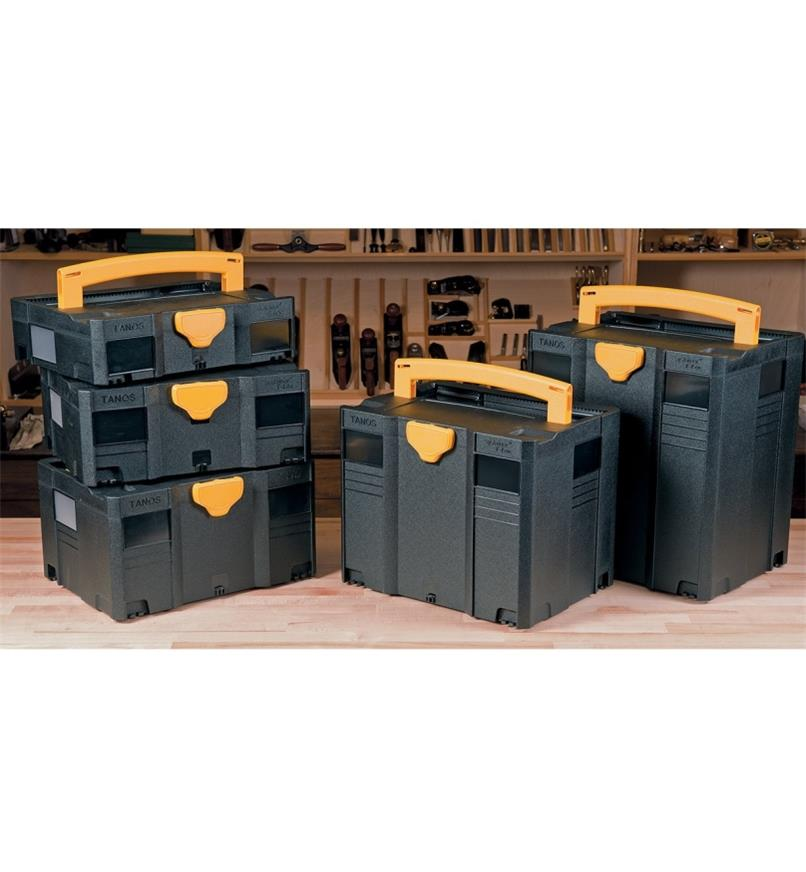 Black & Yellow Regular T-Loc Systainer Cases
