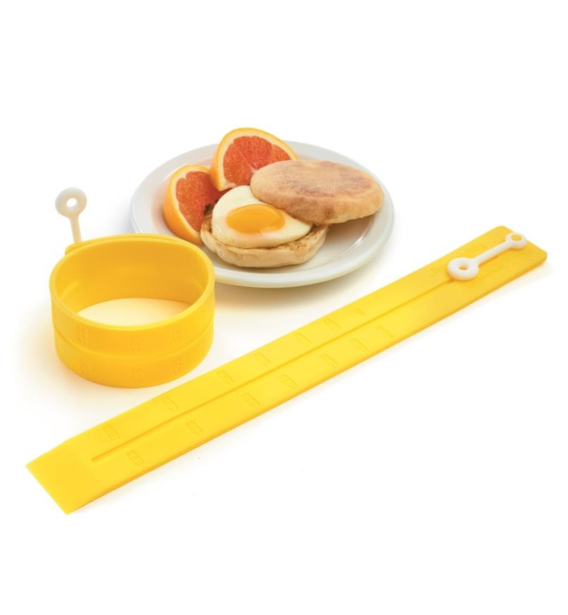 EV135 - Adjustable Silicone Egg Rings, pair