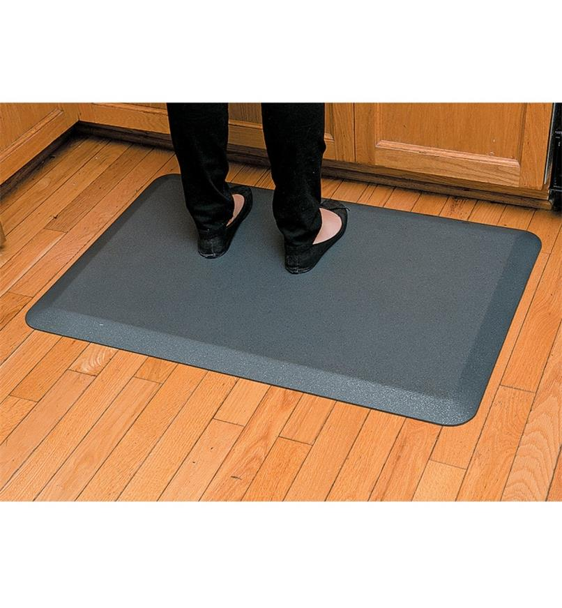 "HB163 - 24"" x 36"" Stationary Mat, Granite"
