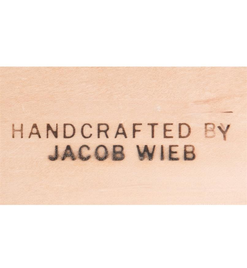 "05N4005 - ""HANDCRAFTED BY"" Electric Branding Iron"