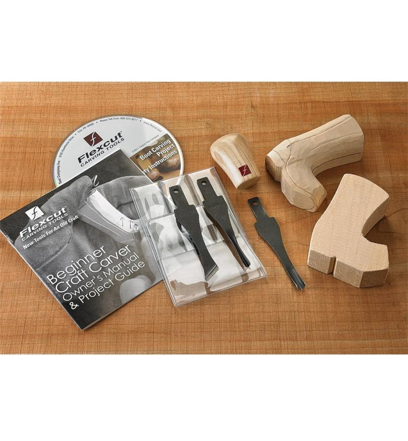 06D0510 - Beginner Flexcut Carving Set