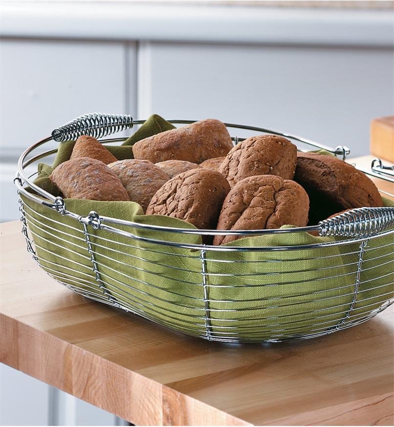 Large Gardener's Wash Basket filled with buns