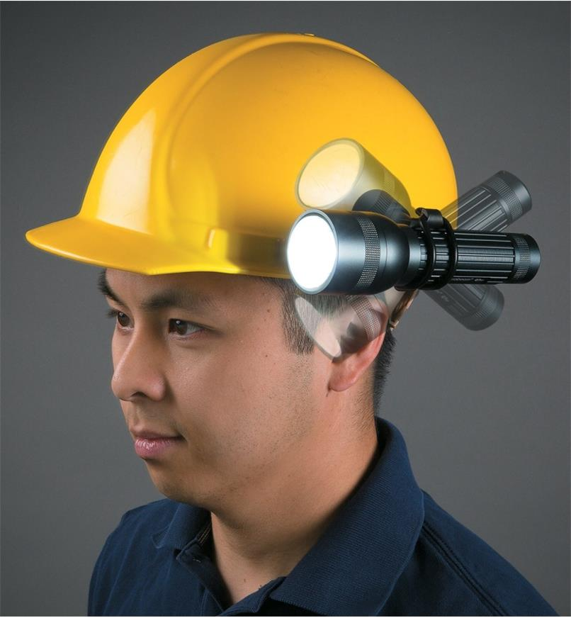 45K1980 - Hard-hat Mount for Suprabeam Q7 Flashlights