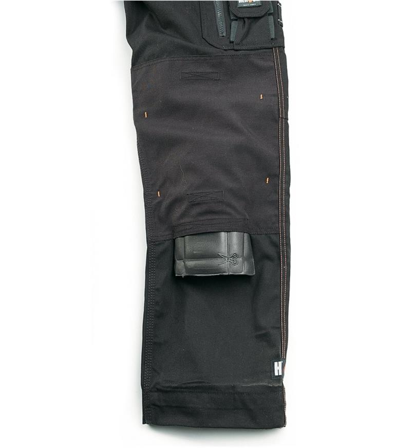 "68K4941B - 30"" Black Heavyweight Pants"