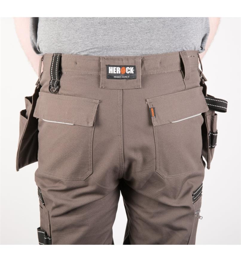 "68K4941G - 30"" Gray Heavyweight Pants"