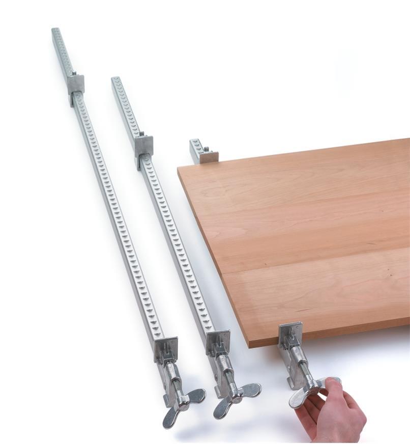 Serre-joints à tige d'aluminium Dubuque